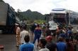 Hai vụ tai nạn liên tiếp trong 10 phút ở đèo Thung Khe, 5 người bị thương
