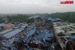 Bản tin ngày 11/6:  Tan hoang sau vụ lốc xoáy san phẳng xưởng gỗ ở Vĩnh Phúc