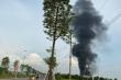 Hà Nội: Cháy lớn tại khu công nghiệp ở Thạch Thất