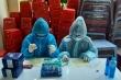 TP.HCM test nhanh COVID-19người đi đường ở Hóc Môn, phát hiện 5 ca dương tính