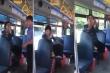 Phẫn nộ người phụ nữ ăn uống nhổ ra xe buýt, còn dọa đánh phụ xe
