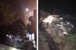 Danh tính 4 người trên xe biển xanh tông vào xe container ở Quảng Ninh