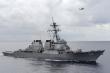 Tàu chiến Mỹ qua eo biển Đài Loan sau vụ 28 máy bay Trung Quốc áp sát ADIZ