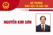 Infographic: Sự nghiệp Bộ trưởng Giáo dục và Đào tạo Nguyễn Kim Sơn