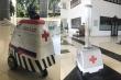 Đội quân robot 'made in Vietnam' tham gia chống dịch Covid-19