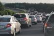 Cao tốc TP.HCM - Long Thành - Dầu Giây ùn tắc hàng cây số trong ngày đầu nghỉ lễ