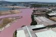 Đầm chứa nước đổi màu tím, bốc mùi thối ở Bà Rịa - Vũng Tàu: Chính quyền nói gì?