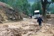 Sạt lở đất ở Điện Biên, bùn nhão chảy tràn, quốc lộ 279 tê liệt