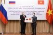 Việt Nam trao 150.000 khẩu trang hỗ trợ Nga chống dịch COVID-19
