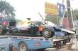 Ngắm mô hình xe đua F1 trên phố Hà Nội