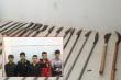 Bắt nhóm thanh, thiếu niên dùng mã tấu hẹn nhau hỗn chiến ở Lâm Đồng