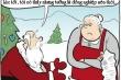 Ông già Noel mất trộm vì tưởng được tặng quà