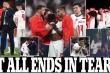 Tan mộng vô địch EURO, báo chí Anh cay đắng: Tất cả kết thúc trong nước mắt