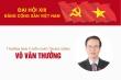 Infographic: Sự nghiệp Trưởng Ban Tuyên giáo Trung ương Võ Văn Thưởng