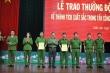 Công an Đắk Lắk thưởng đột xuất cho tổ công tác triệt phá ổ bạc khủng