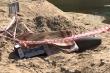 Kích nổ quả bom nặng 120kg còn nguyên vỏ
