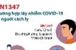Infographic: Bệnh nhân 1347 nhiễm virus corona thế nào?