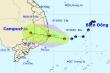 Áp thấp trên Biển Đông tiến gần đất liền, tiếp tục mạnh thêm
