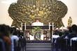 Cận cảnh nhà thờ Thái Hà  phát livestream thánh lễ ngăn Covid-19