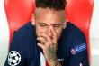 Thua chung kết Champions League, Neymar khóc nức nở, HLV Tuchel chống nạng an ủi