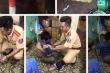 Chiến sỹ cảnh sát giúp dân trong mưa bão nhận thư khen của Chủ tịch nước