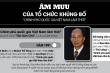 Infographic: Âm mưu phá hoại của tổ chức khủng bố 'Chính phủ quốc gia Việt Nam lâm thời'