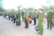 Nghệ An chi viện 100 cán bộ, chiến sỹ công an hỗ trợ chống dịch ở Diễn Châu