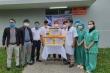 Tiếp sức cùng y bác sĩ Bệnh viện Trung ương Huế vững vàng chống dịch COVID-19