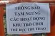 Ảnh: Công viên ở TP.HCM dừng hoạt động để phòng, chống COVID-19