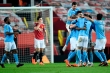 Derby Manchester giờ chỉ một màu xanh