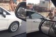 Truy tìm nữ tài xế vượt đèn đỏ, cố tình đẩy lùi CSGT rồi bỏ chạy