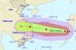Bão số 9 giật cấp 15 đang quần thảo Biển Đông, tiếp tục mạnh thêm
