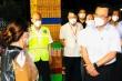 Bí thư Nguyễn Văn Nên kiểm tra công tác phòng dịch chợ đầu mối Bình Điền