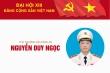 Infographic: Sự nghiệp Thứ trưởng Bộ Công an Nguyễn Duy Ngọc