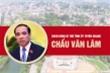 Infographic: Sự nghiệp Bí thư Tỉnh ủy Tuyên Quang Chẩu Văn Lâm