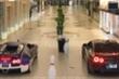 Bugatti đua tốc độ với Nissan GT-R ngay trong trung tâm thương mại