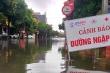 Ảnh: Mưa lớn, đường phố Hà Tĩnh biến thành sông