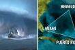 Giải mã bí ẩn Tam giác quỷ Bermuda: Giả thuyết rợn người về mây lục giác