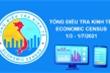 Từ hôm nay 1/3, bắt đầu tổng điều tra kinh tế năm 2021