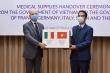 Đại sứ Italy: Cảm ơn Việt Nam hỗ trợ trong cuộc chiến chống đại dịch COVID-19