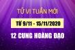 Tử vi tuần mới 9/11 - 15/11/2020 của 12 cung hoàng đạo: Sư Tử tìm được chân ái