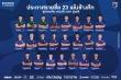 Thái Lan gọi lại Dangda, 'thần đồng' Suphanat đá vòng loại World Cup 2022