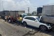 Cận cảnh hiện trường 11 xe tông nhau liên hoàn trên Quốc lộ 1 ở TP.HCM