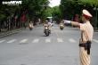 CSGT diễn tập dẫn đoàn Đại hội XVII Đảng bộ Thành phố Hà Nội