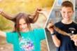 Cậu bé Mỹ nuôi tóc dài để ủng hộ bệnh nhân ung thư