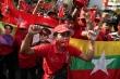 Biểu tình lớn ủng hộ nhà lãnh đạo Myanmar Aung San Suu Kyi tại Bangkok