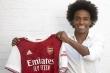 Willian gia nhập Arsenal, nhận lương 220.000 Bảng Anh/tuần