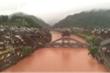 Cổ trấn 2.000 năm tuổi của Trung Quốc ngập trong mưa lũ