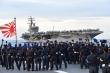 Tàu Nhật Bản tham gia tập trận cùng tàu sân bay Mỹ tại Biển Đông
