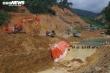 Ảnh: Quân đội ngăn dòng sông Rào Trăng, tìm kiếm 12 công nhân mất tích